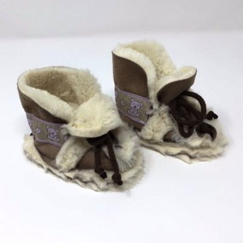 Faux-fur Moccassins