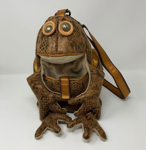 Croak Croak Frog Bag